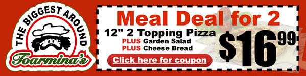 Pizza Meal Deal For Two!