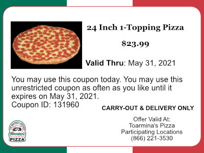 24 Inch Pizza Deal