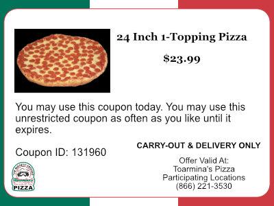 24 Inch Pizza